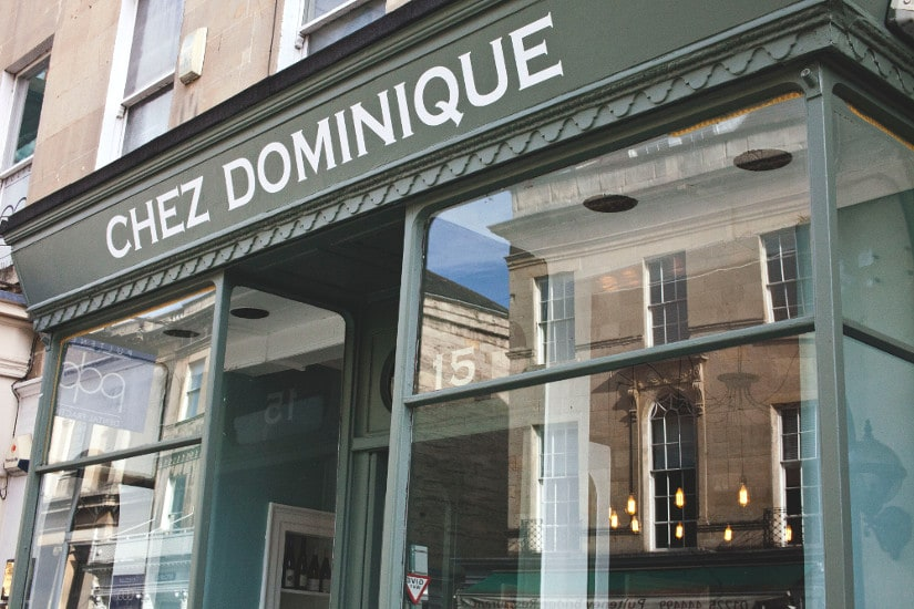 Chez Dominique - French and European dining in the centre of Bath